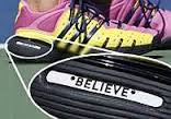 melanie oudin believe shoes